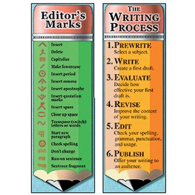 McDonald Publishing The Writing Process and Editors Bookmark