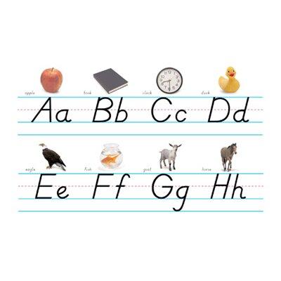 Northstar Teacher Resource Alphabet Lines Modern Manuscript Bulletin Board Cut Out