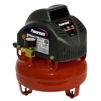 Powermate 1 Gallon Pancake Air Compressor with 7 Piece Accessory Kit