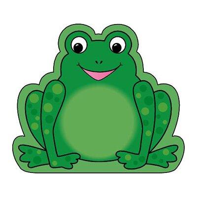 Shapes Etc. Mini Frog Notepad