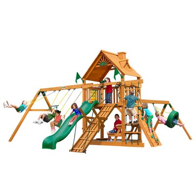Frontier with Amber Posts Cedar Swing Set Product Photo