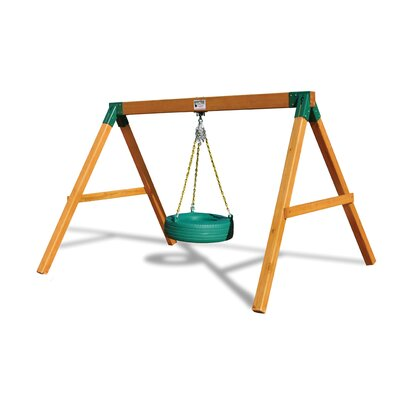 Free Standing Tire Swing Set by Gorilla Playsets