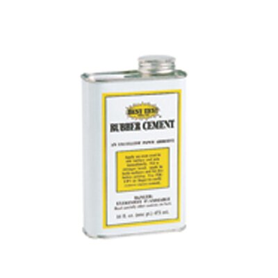 Union Rubber Rubber Cement Can