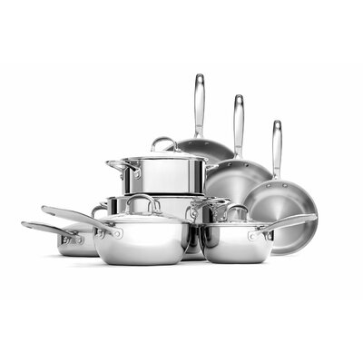 Stainless Steel Pro 13-Piece Cookware Set by OXO