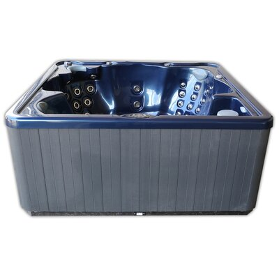 Home And Garden Spas 6 Person 40 Jet Spa With Mp3 Auxilary