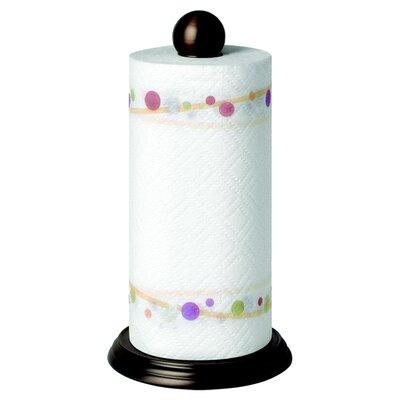Luna Paper Towel Holder in Bronze by Spectrum Diversified