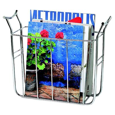 Euro Basket Magazine Rack by Spectrum Diversified