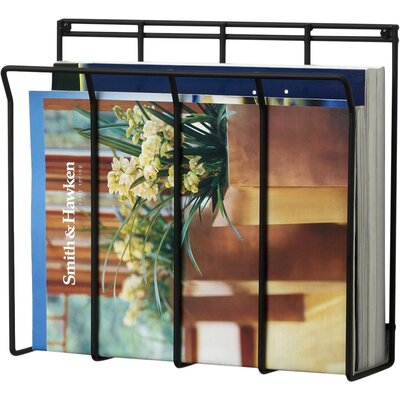 Spectrum Diversified Wall Mount Wire Magazine / Newspaper Caddy