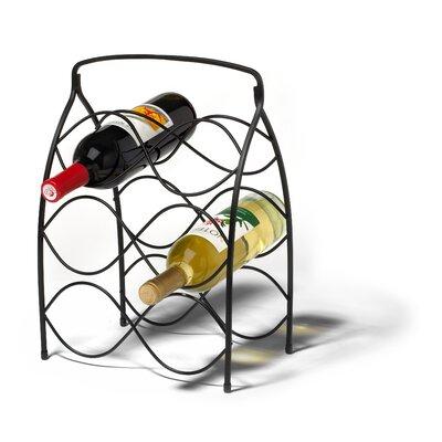 Spectrum Diversified Neko 6 Bottle Wine Rack