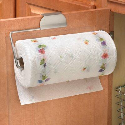 Over the Door Paper Towel Holder in Brushed Nickel by Spectrum Diversified