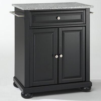 Crosley Alexandria Kitchen Cart with Granite Top