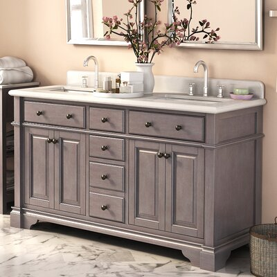 "Casanova 60"" Double Sink Vanity Product Photo"