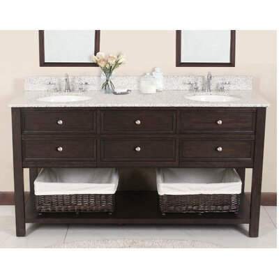 "Camber 72"" Double Bathroom Vanity Set Product Photo"