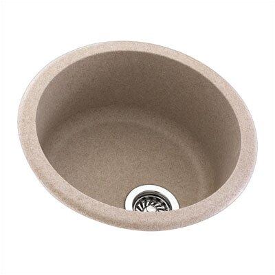 """Swanstone Metropolitan 18.5"""" x 18.5"""" Round Bowl Kitchen Sink"""