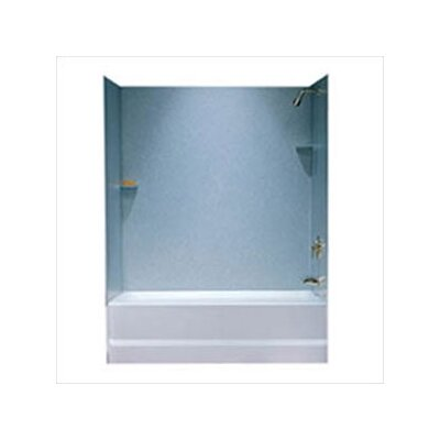 Metropolitan Three Panel Bath Tub Wall System and Installation Kit Product Photo