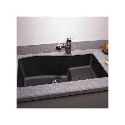 "Swanstone Classics 32"" x 21"" Undermount Ascend Bowl Kitchen Sink Product Photo"