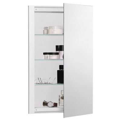 "R3 Series 24"" x 26"" Recessed Flat Medicine Cabinet Product Photo"