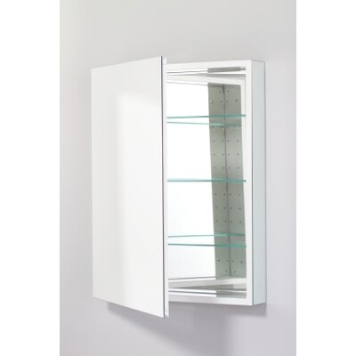 "PL Series 23.25"" x 30"" Recessed Beveled Flat Edge Medicine Cabinet Product Photo"