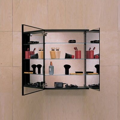"PL Series 23.25"" x 30"" Recessed Flat Edge Medicine Cabinet Product Photo"