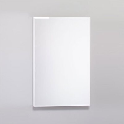 "PL Series 19.25"" x 30"" Surface Mount Flat Edge Medicine Cabinet Product Photo"
