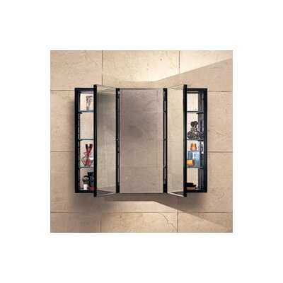 "PL Series 30"" x 30"" Recessed Beveled Medicine Cabinet Product Photo"