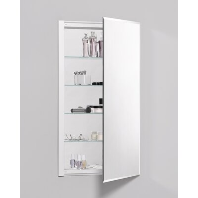 "R3 Series 20"" x 36"" Recessed Beveled Flat Edge Beveled Edge Medicine Cabinet Product Photo"