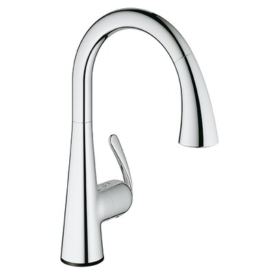 LadyLux3 Single Handle Single Hole Kitchen Faucet Product Photo