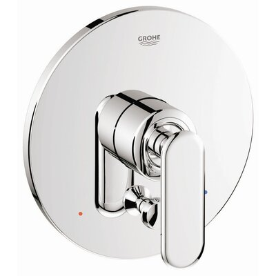 Grohe Veris Pressure Balance Diverter Valve Faucet Trim with Lever Handle
