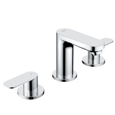 Grohe Eurosmart Double Handle Widespread Bathroom Faucet