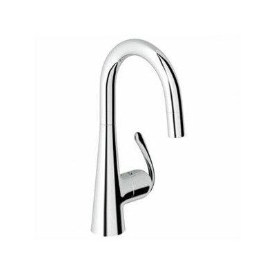 Ladylux3 Single Handle Single Hole Bar Faucet with Dual Spray Pull Down Product Photo