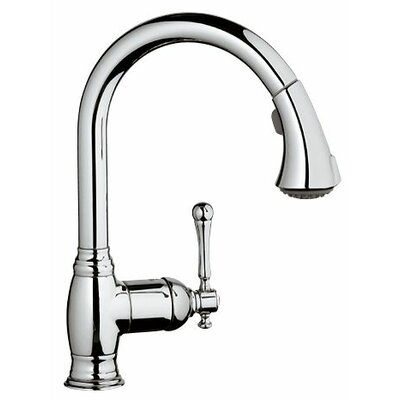 Grohe Bridgeford Single Handle Single Hole Standard Kitchen Faucet