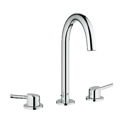 Concetto Double Handle Widespread Bathroom Faucet by Grohe