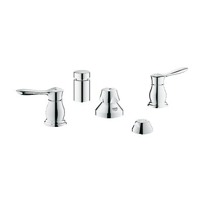 Grohe Parkfield Double Handle Vertical Spray Bidet Faucet