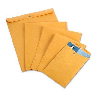 Business Source Clasp Envelopes,28 lb.,100 per Box,Brown Kraft