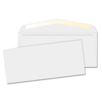 "Business Source Business Envelopes,24 lb., No. 6, 3-5/8""x6-1/2"", 500 per Box, White"