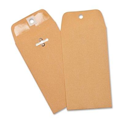 Business Source Heavy-duty Clasp Envelopes,100 per Box,Brown Kraft