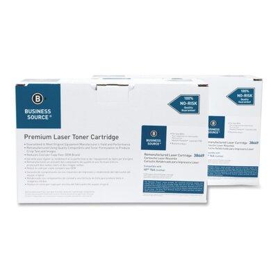 Business Source Toner Cartridge, 5000 Page Yield, 2 per Box, Black