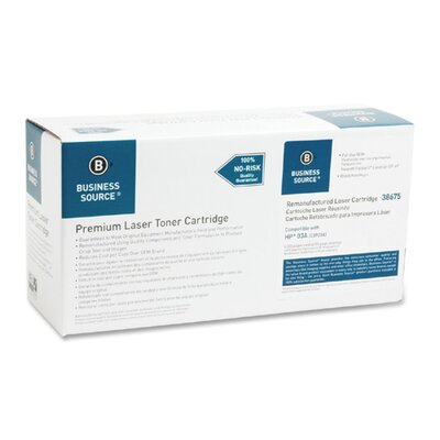 Business Source Toner Cartridge, 4000 Page Yield, Black
