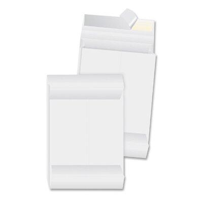 "Business Source Tyvek Envelopes, Plain, 10""x13""x1-1/2"", 100 Count, White"