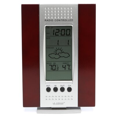 Wireless Weather Stations Thermometer / Digital Clock by La Crosse Technology