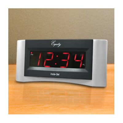 Equity Insta-Set Digital Alarm Clock by La Crosse Technology