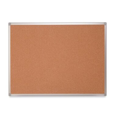 Bi-silque Visual Communication Product, Inc. Mastervision Wall Mounted Bulletin Board, 3' x 4'