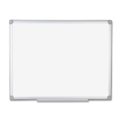 Bi-silque Visual Communication Product, Inc. Mastervision Earth Wall Mounted Whiteboard, 3' x 4'