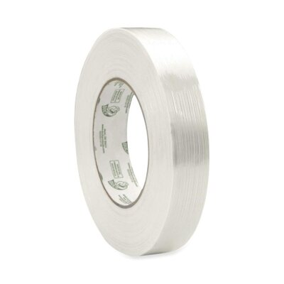 "ShurTech Brands LLC Filament Tape, 1""x60Yards, White"