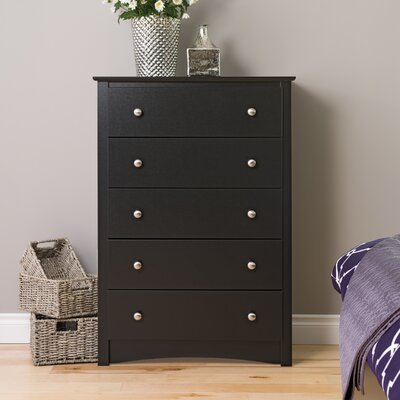 Sonoma 5 Drawer Chest by Prepac
