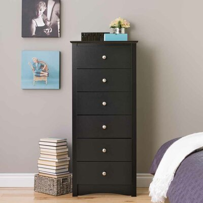 Sonoma 6 Drawer Lingerie Chest by Prepac