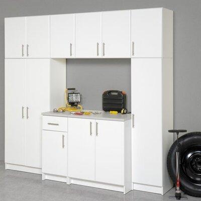 Elite Storage 5' H x 3' W x 2' D 7 Piece Garage/Laundry Room Cabinet ...