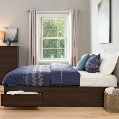 Storage Platform Bed by Prepac
