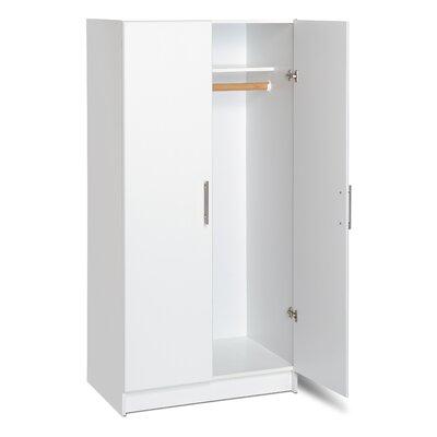 prepac elite storage wardrobe cabinet reviews wayfair. Black Bedroom Furniture Sets. Home Design Ideas