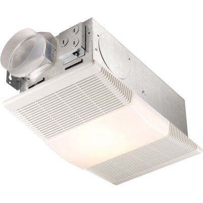 70 CFM Ceiling Exhaust Fan with Heater and Light by Broan